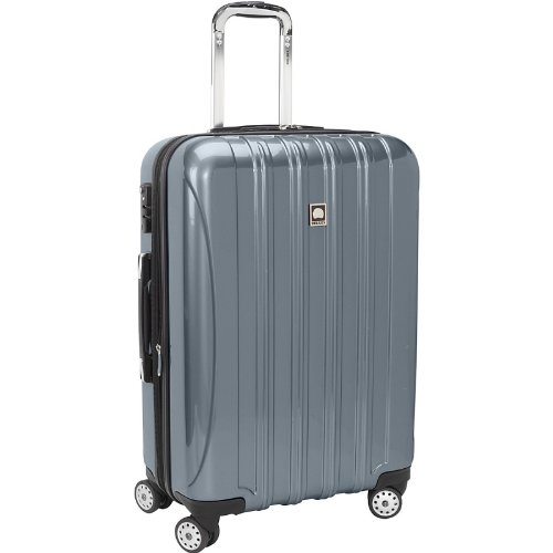 delsey luggage helium aero 25 inch expandable spinner trolley igogeer. Black Bedroom Furniture Sets. Home Design Ideas
