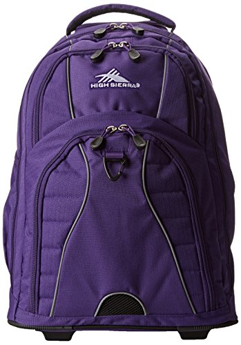 High Sierra Freewheel Wheeled Book Bag Backpack | igogeer
