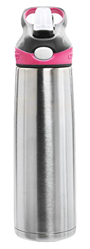 Contigo Autospout Sheffield Vacuum-Insulated Stainless Steel Water Bottle, 20-Ounce