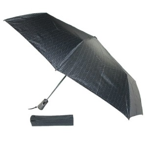 Totes Titan Men's Super Strong Auto Open Close Compact Umbrella