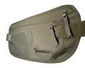 igogeer.com deluxe money belt with RFID blocking - khaki - front detail