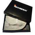 igogeer.com deluxe money belt with RFID blocking - khaki - in awesome gift box