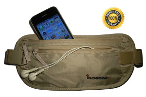 igogeer.com deluxe money belt with Rfid blocking - guarantee