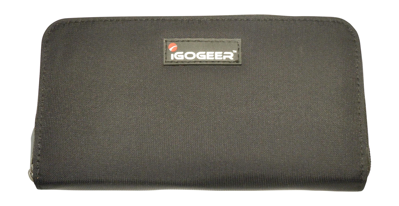 Igogeer.com - women travel clutch wallet W05 with Rfid blocking - Black 48cc9b9cb