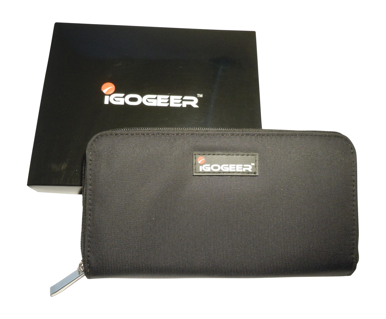 Igogeer W05 Women Travel Clutch Wallet With Rfid Blocking