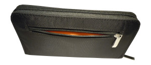 Igogeer.com - women travel clutch wallet W05 with Rfid blocking - Back - Open