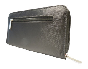 Igogeer.com - women travel clutch wallet W05 with Rfid blocking - Back - Side