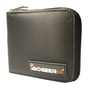 Igogeer.com - men pocket wallet M05 with Rfid blocking - front up