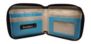 Igogeer.com - men pocket wallet M05 with Rfid blocking - internal