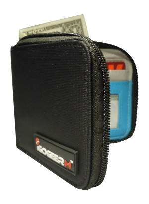Igogeer.com - men pocket wallet M05 with Rfid blocking - front open