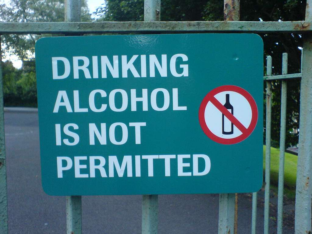 IGOGEER - Drinking alcohole is not permitted