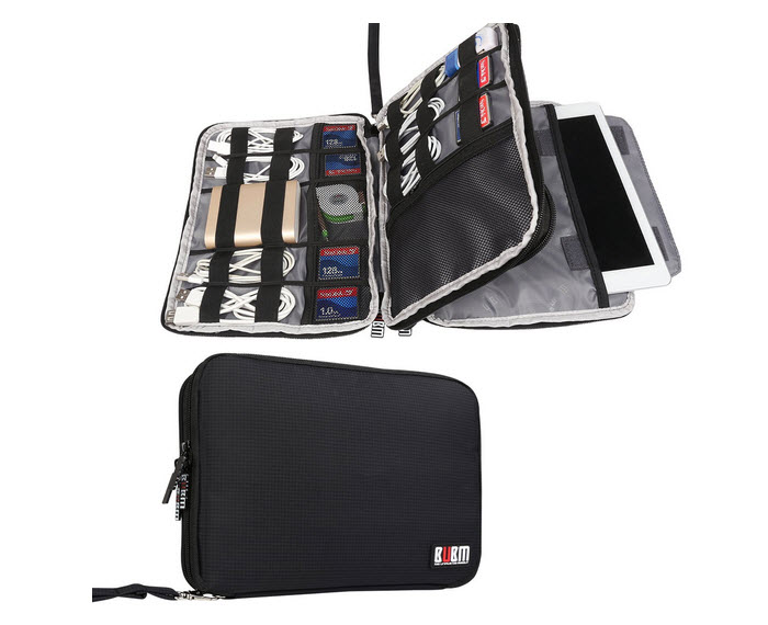 IGOGEER - BUBM Double Layer Travel Gear Organizer