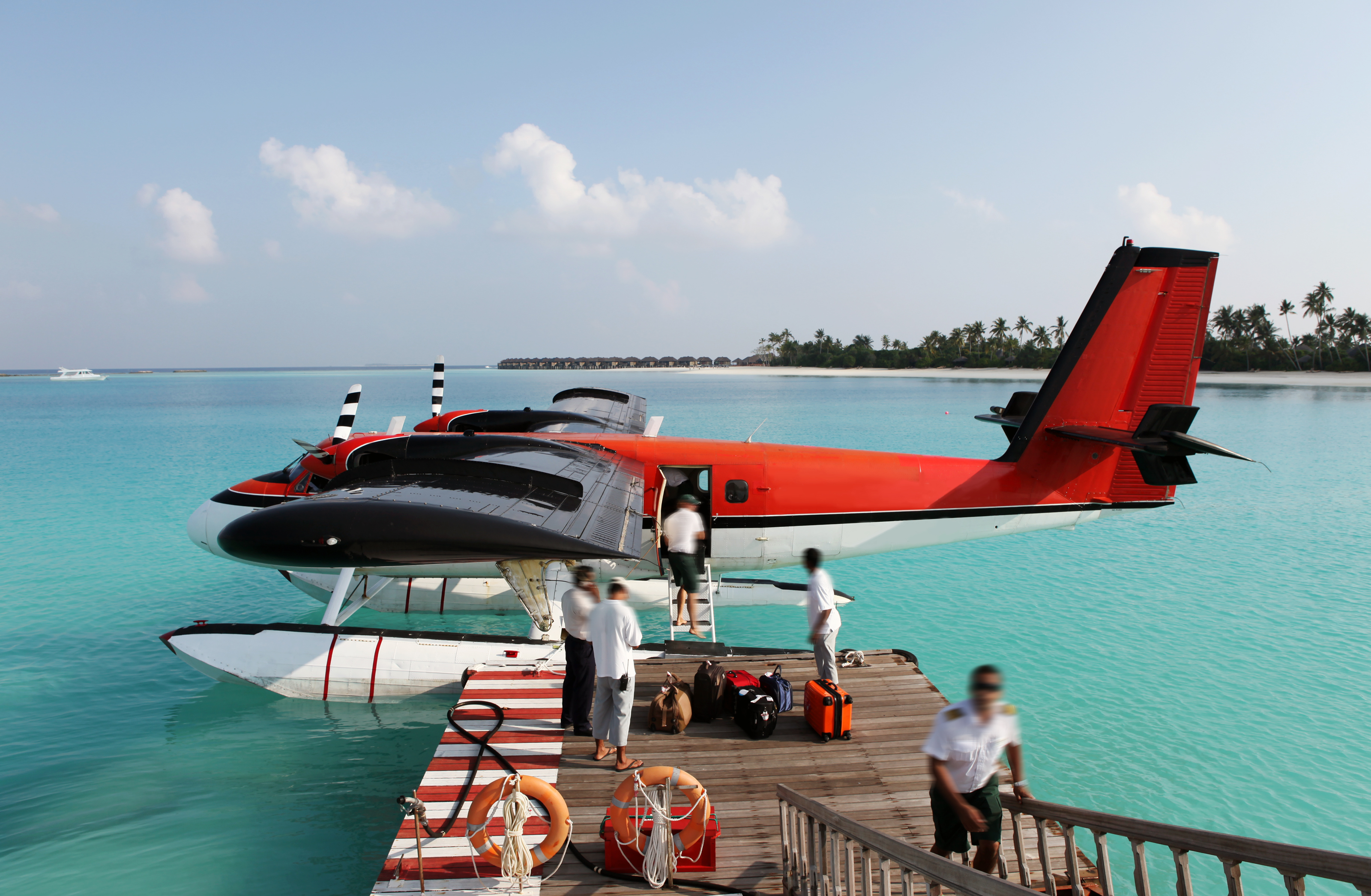 IGOGEER - Red Seaplane