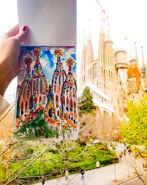 IGOGEER - Sagrada Familia De Gaudia, Barcelona, Spain