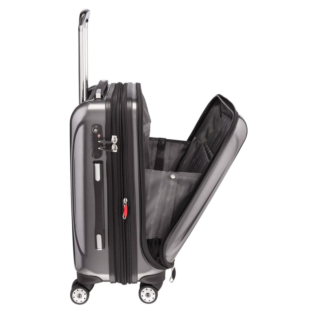 IGOGEER - Delsey Hard Shell Spinner suitcase
